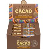 Aduna Cacao Raw Energy Bar, 45 g, 16-Pack