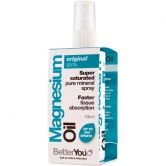 BetterYou Magnesium Oil Original Spray, 100 ml