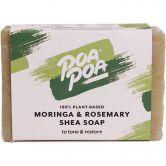 Poapoa Moringa & Rosemary Shea Soap, 100 g