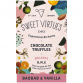 Sweet Virtues Chocolate Truffles Baobab & Vanilla, 115 g
