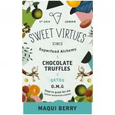 Sweet Virtues Chocolate Truffles Maqui Berry, 115 g