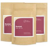 Organic Baobab Powder, 100 g, 3-Pack