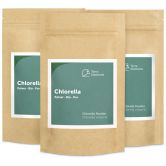Organic Chlorella Powder, 100 g, 3-Pack