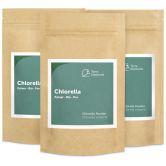 Organic Chlorella Powder, 100 g, 3-Pack