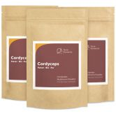 Organic Crodyceps Mushroom Powder, 100 g, 3-Pack