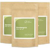 Organic Barley Grass Powder, 125 g, 3-Pack