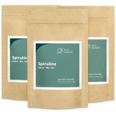 Organic Spirulina Powder, 125 g, 3-Pack