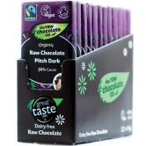 The Raw Chocolate Co. Dark Raw Chocolate, 44 g, 12-Pack