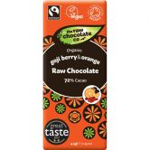 The Raw Chocolate Co. Goji & Orange Raw Chocolate, 44 g