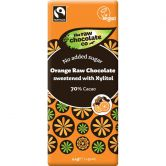 The Raw Chocolate Co. Orange Xylitol Raw Chocolate, 44 g