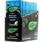 The Raw Chocolate Co. Vanoffe Raw Chocolate, 44 g, 12-Pack