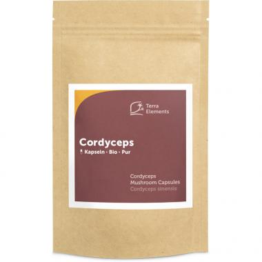 Organic Cordyceps Mushroom Capsules, (400 mg, 150 caps)