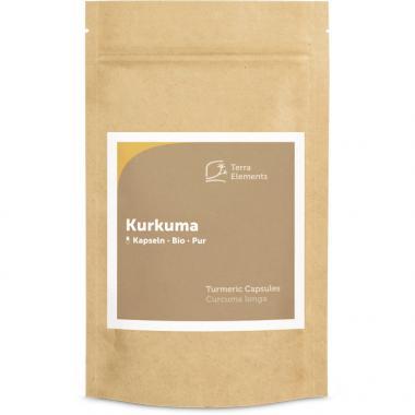Organic Turmeric Capsules (400 mg, 150 caps)