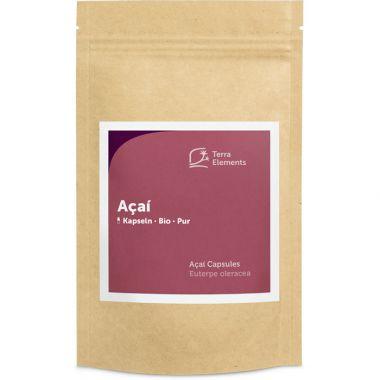 Organic Acai Capsules (400 mg, 150 caps)