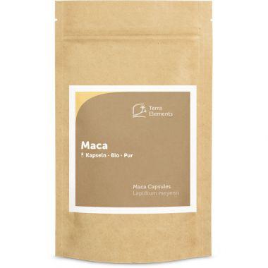 Organic Maca Capsules (400 mg, 240 caps)