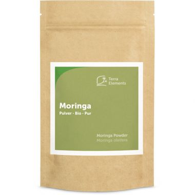 Organic Moringa Powder, 100 g