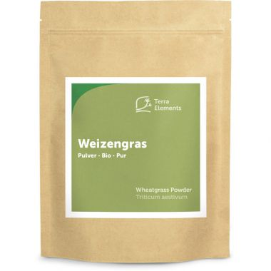 Organic Wheatgrass Powder, 500 g