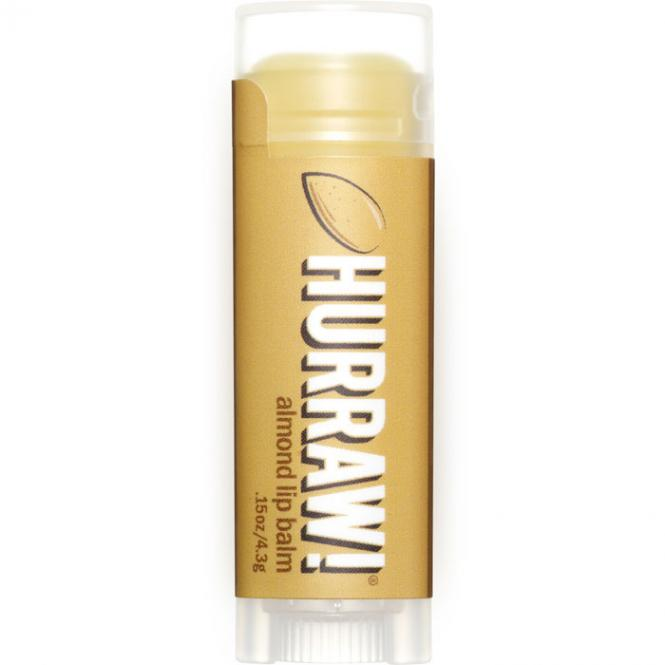 Hurraw! Almond Lip Balm, 4,3 g