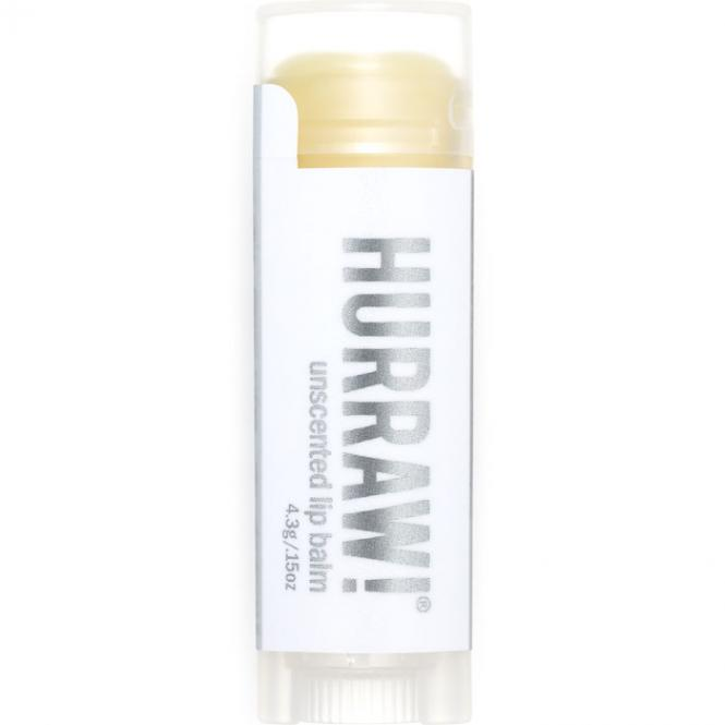 Hurraw! Unscented Lip Balm, 4,3 g