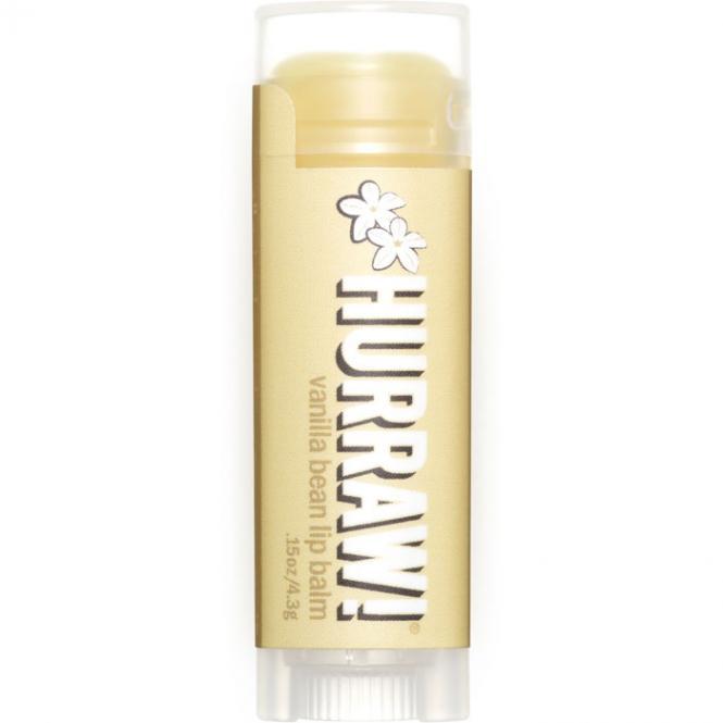 Hurraw! Vanilla Lip Balm, 4,3 g