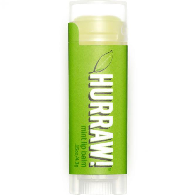 Hurraw! Mint Lip Balm, 4,3 g