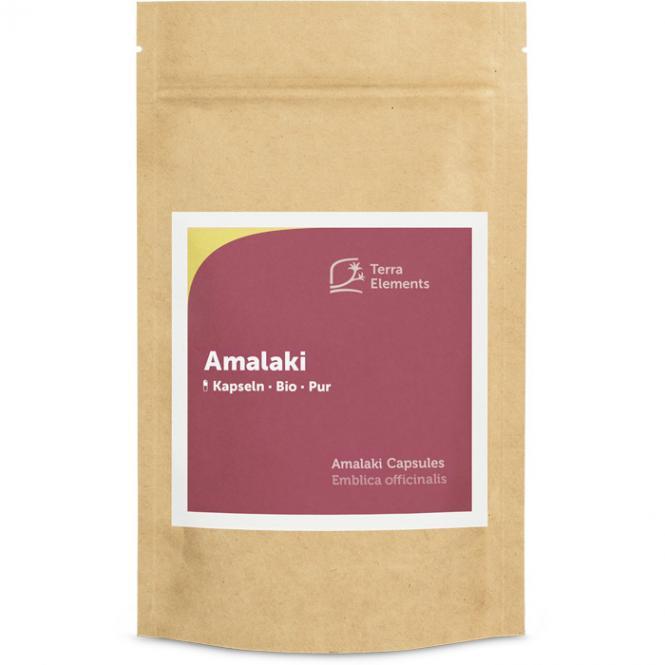 Organic Amalaki Capsules (400 mg, 150 caps)