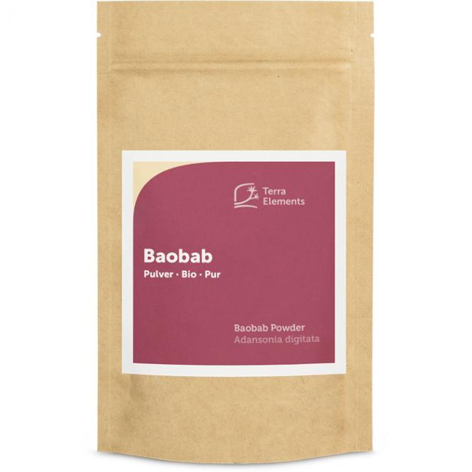 Organic Baobab Powder, 100 g
