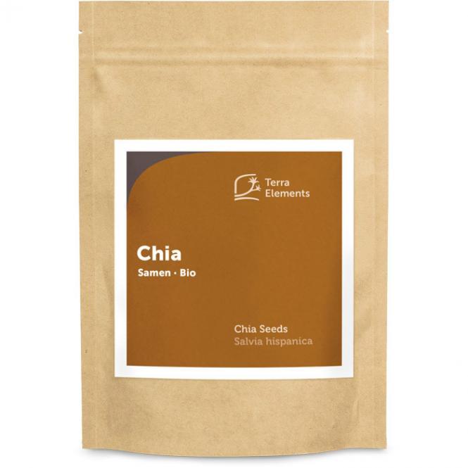 Organic Chia Seeds, 500 g