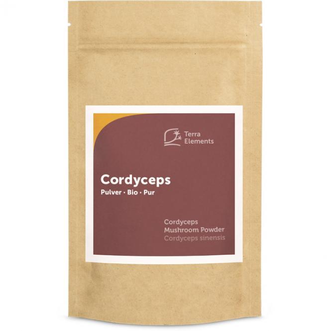 Organic Cordyceps Mushroom Powder, 100 g