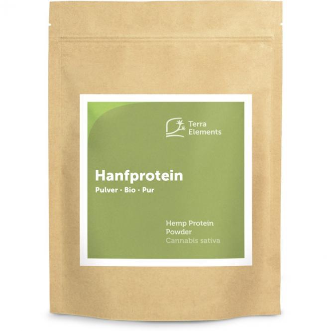Organic Hemp Protein Powder, 500 g