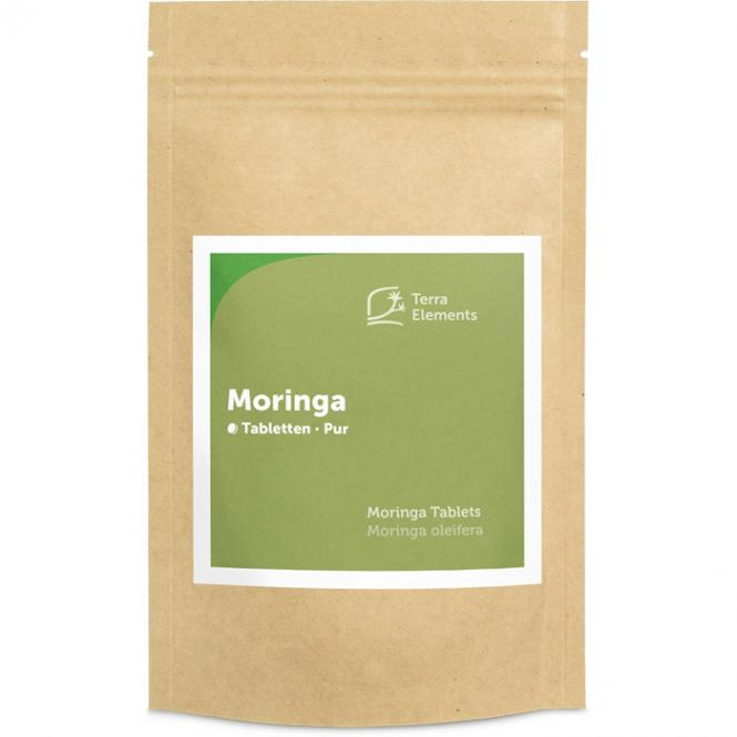 Organic Moringa Tablets (500 mg, 240 tabs)