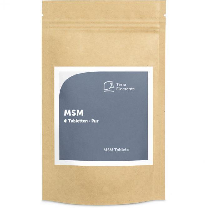 MSM Tablets (750 mg, 160 tabs)