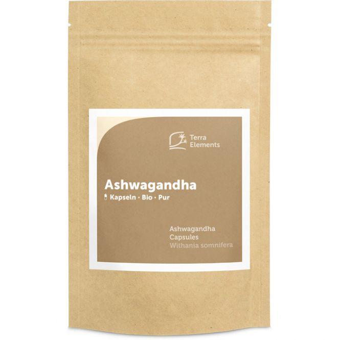 Organic Ashwagandha Capsules (400 mg, 150 caps)