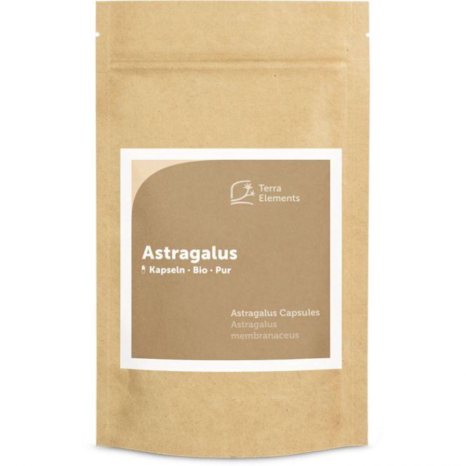 Organic Astragalus Capsules (400 mg, 150 caps)