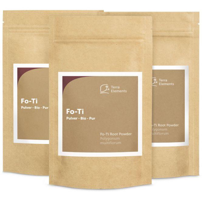 Organic Fo-Ti Root Powder, 100 g, 3-Pack