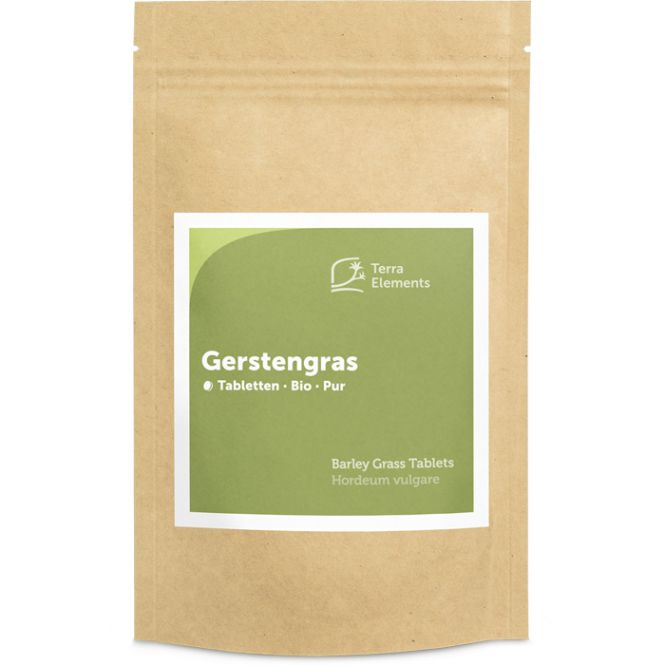 Organic Barley Grass Tablets (500 mg, 240 St)