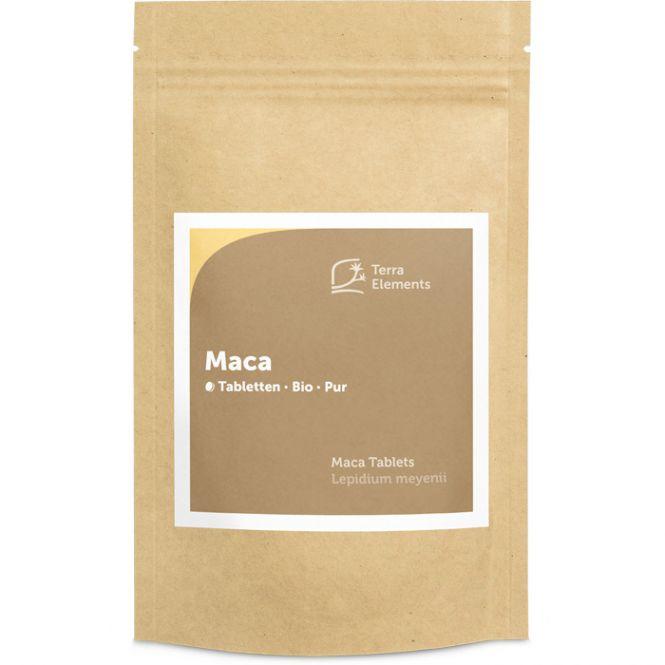 Organic Maca Tablets (500 mg, 240 tabs)