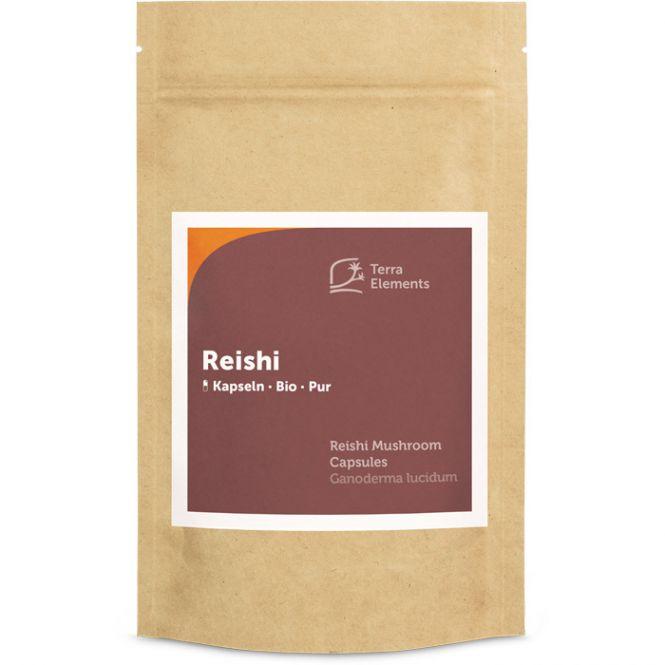 Organic Reishi Mushroom Capsules, (400 mg, 150 caps)