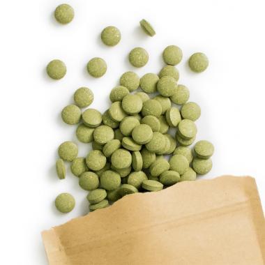 Organic Wheatgrass Tablets (500 mg, 240 tabs)