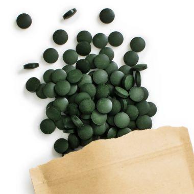 Organic Spirulina Tablets (400 mg, 240 tabs)