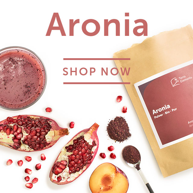 Aronia Superfood Pulver bei Terra Elements München
